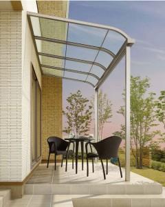 屋根形状:R型/テラスタイプ